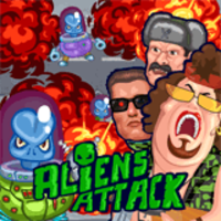 Image for Aliens Attack game