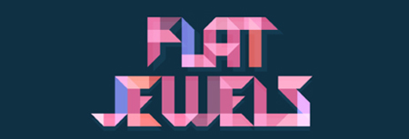 Image of Flat Jewels Match 3 game