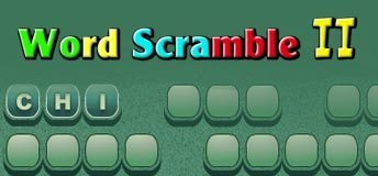 Word Scramble II