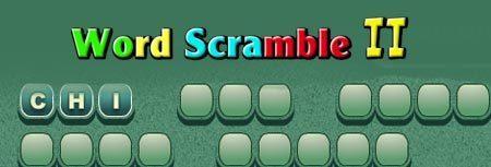 Image of Word Scramble II game