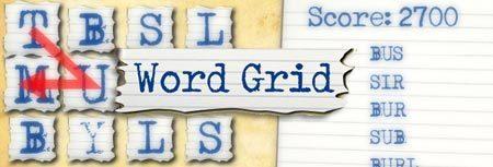 Image of Word Grid game