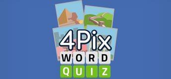 4 Pix Word Quiz