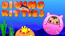 Image for Diving Kitties game