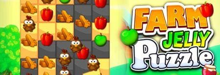 Image of Farm Jelly Puzzle game