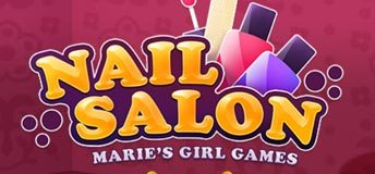 Nail Salon - Marie's Girl Games