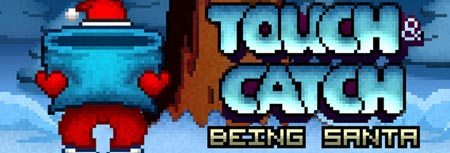 Image of Touch and Catch Being Santa game