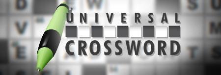 Image of Universal Crossword game