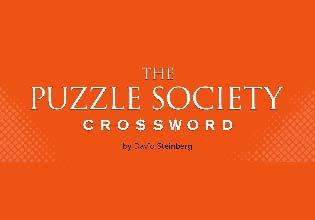 Puzzle Society Crossword
