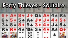 Image for Forty Thieves - Solitaire game